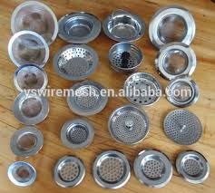 home essentials stainless mesh sink strainers stainless steel sink