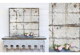 Decorative Ceiling Tiles 24x24 by Found Decorative Tin Ceiling Tile Architectural Salvage