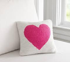 heart decorative pillow pottery barn kids
