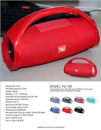 TG116 TG125 Double Horn Cloth Net Bluetooth Wireless Speaker Mini ...