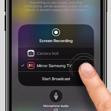 How To Mirror Your iPhone iPad To A Samsung TV Without Using An