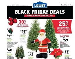 Lowes Artificial Trees Christmas On Sale Throughout Black Friday Tree Deals