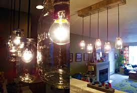 Pallet Lights Ideas For Home Decor Photo Twenty8divine Mason Jar Amp Rustic Light Fixture Diy