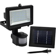 outdoor solar led security light motion led flood light torchstar