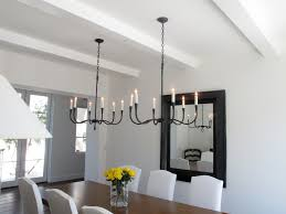Floating Shelves Dining Room Mediterranean With French Patio Doors Chandelier Dark Wood