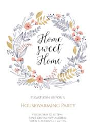 Party Invitation Templates Printable Housewarming Invitations With Stunning As A Result Of An