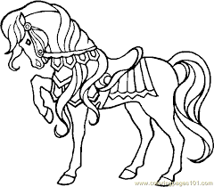 Horse Coloring Page 28