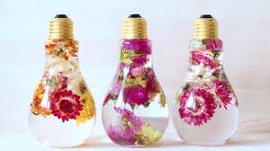 here s a pretty new way to preserve flowers in a light bulb