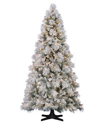 HallmarkTM Flocked Sugared Spruce Wintry Delight In One Marvelous Christmas Tree