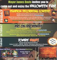 Halloween Activities In Nj by Plenty Of Halloween Fun And Fright From North Boo Gen To Boo