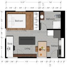 100 500 Sq Foot House Ft Studio Floor Plan Ft Studio Apartment Luxury Home