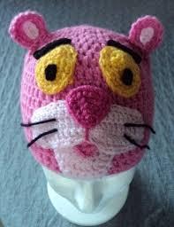 Gorro Pantera Rosa Lussi Lu disfraces Pinterest