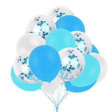 Details About Blue Theme Party Decoration For Baby Boy Birthday Baby Shower Supply Balloon DIY