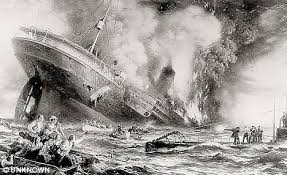 secret of the lusitania arms find challenges allied claims it was