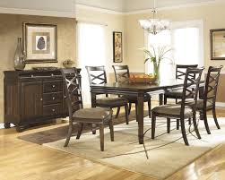 Mestler Side Chair By Ashley by Hayley Rectangular Dining Room Table By Ashley Furniture D480 35
