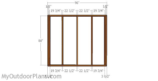 Free 8x8 Shed Plans Pdf by 8x8 Shed Plans Myoutdoorplans Free Woodworking Plans And