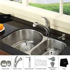 Kraus Sinks Kitchen Sink stainless steel kitchen sink combination kraususa com