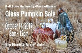 Glass Hand Blown Pumpkins by Glass Alliance Pumpkin Sale Ball State University