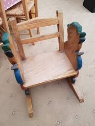 Oak Children's Rocking Chair Solid Peroba De Rosa Heavy Wood Rocking Chair Fniture Fascating Amish Chairs With Interesting Bz Kd20n Classic Wooden Childs Porch Rocker Natural Oak Ages 37 Lovely American Vintage Oak Antique Dexter Ash Duty Used For Sale Chairish Bent Style Jack Post Childrens Patio Of America Oria Brown Hardwood Michigan State