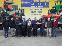 Pete s Tire Barns donates 250 hams to the Salvation Army Tire