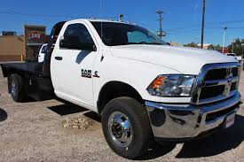 New 2018 Ram 3500 Flatbed For Sale In New Braunfels, TX   #TG362458