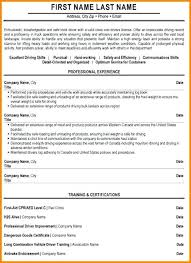 Truck Driver Resume 8 Sample Ledger Page Garbage Examples