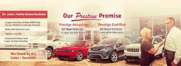 Prestige Chrysler Dodge Jeep Ram   New Car Dealer In Longmont, CO New Used Chrysler Jeep Dodge Ram Dealer Redlands Buy American Cars Trucks Agt Your Official Importer Halifax Dealership Bowie In Tx Wise County Mount Airy Cdjr Fiat Indianapolis And Bayshore Baytown Bob Howard Oklahoma City Okc Karmart Cjdrf York Auto Crawfordsville In Ken Garff West Valley