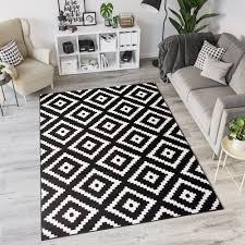 teppich tapiso modern marokkanisch geometrisch gitter design
