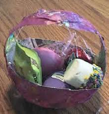 Paper Mache Easter Basket Craft