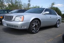 Cadillac DTS with Chrome Rims 1 1