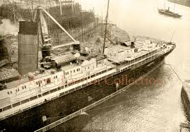 The Sinking Of The Britannic Old Version by Lusitania Home Atlantic Liners