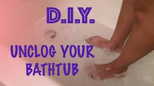 Bathtub Drain Clog Home Remedy by Bathtub Drain Clogged With Paint Make A Drain Declogging Tool