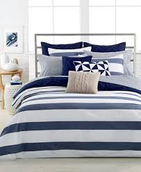Macys Com Bedding by Nautica Lawndale Navy Bedding Collection 100 Cotton Bedding