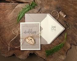 Luxury Simple Yet Elegant Wedding Invitations Or Rustic Engraved Invitation Suite Romantic