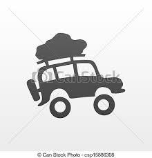 Car Travel Vector Clipart