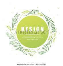 Vector Floral Abstract Leaf Background Design Modern Nature Template For Banner Flyer Card