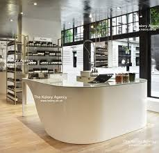 Aesop Cosmetics Counter Picture At Liberty Department Store Beauty Industry Visual Merchandising Photography