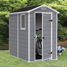 Keter Storage Shed Shelves by Keter Manor 4 X 6 Ft Storage Shed Hayneedle