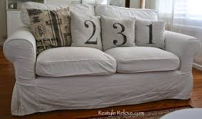 Replacement Sofa Pillow Inserts by How To Restuff Ikea Ektorp Sofa Cushions Cheap Easy And Quick