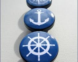 Nautical Drawer Pulls Canada by Anchor Knobs Etsy