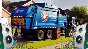 Garbage Truck Video Kids - Garbage Truck Car Garage Toy Factory ...
