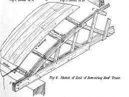 104 Bowstring Truss Design Es The Weird Old Structures Engineering