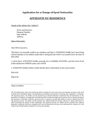 36 Proof Of Residency Letters From Family Member Landlord
