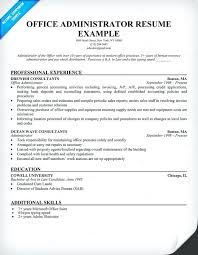 Office Administrator Resume Office Administrator Free Resume Medical