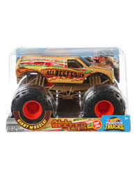 100 Moster Trucks Hotwheels Monster 124 Assorted 6850101
