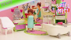 playmobil baden playmobil dollhouse romantik bad 5307 demo großes badezimmer mit toilette