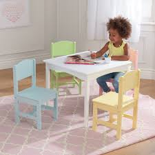 KidKraft Nantucket Table & 4 Chair Set, Multiple Colors ... Folding Adirondack Chair Beach With Cup Holder Chairs Gorgeous At Walmart Amusing Multicolors Nickelodeon Teenage Mutant Ninja Turtles Toddler Bedroom Peppa Pig Table And Set Walmartcom Antique Office How To Recover A Patio Kids Plastic And New Step2 Mighty My Size Target Kidkraft Ikea Minnie Eaging Tables For Toddlers Childrens Grow N Up Crayola Wooden Mouse Chair Table Set Tool Workshop For Kids
