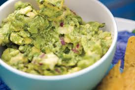 Picture Of Pumpkin Throwing Up Guacamole by 20 Easy Super Bowl Appetizers Real Simple