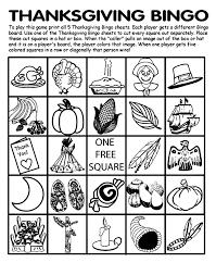 Thanksgiving Printable Sheets For Kids