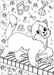 Similiar Printable Christmas Coloring Pages Cat Keywords New Page